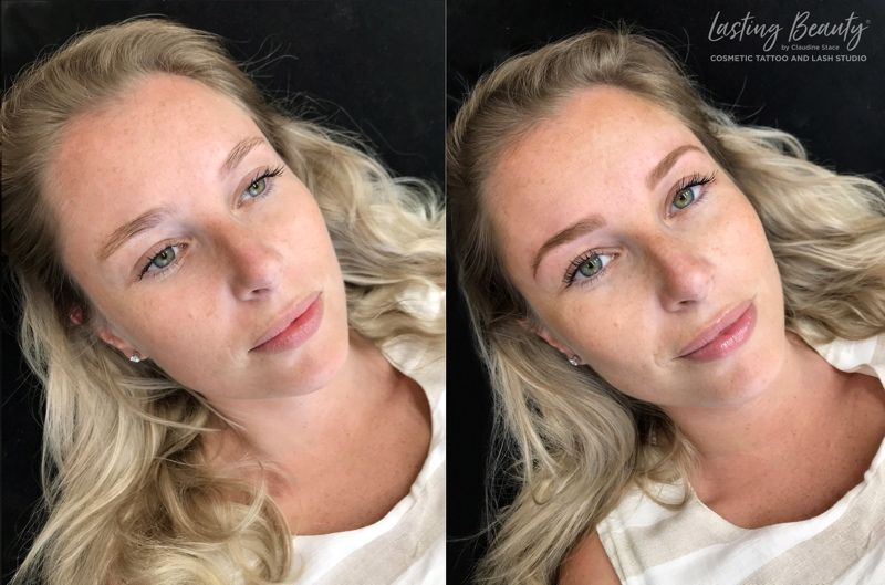 Wellington Cosmetic Permanent Makeup Before And After