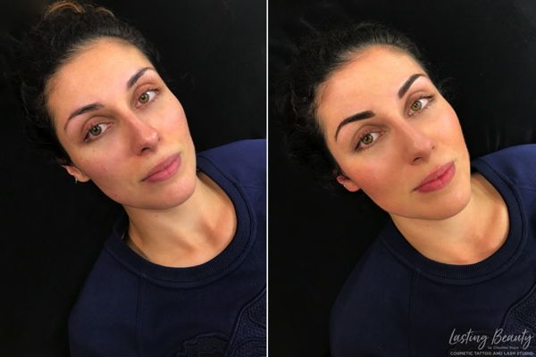2 SOFT OMBRE brows claudine stace permanent makeup cosmetic tattoo wellington lower hutt micropigmentation lasting beauty 600px